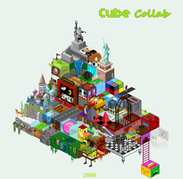 Pixel-Cube Collab by The-Titan