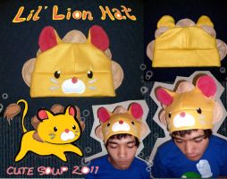 Lil' Lion Hat by sarahmariem