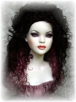 Lilith, OOAK doll repaint by DalilaDolls