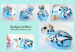 Griffon Budgie by Bittythings