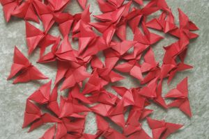 Origami Butterflies 1 by themuseslibrary