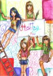 Hashtag Four by Rossally