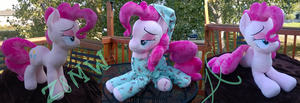 Pinkie Pie Plush by Zombies8MyWaffle