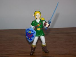 Ocarina of Time Link by SuperTailsHero