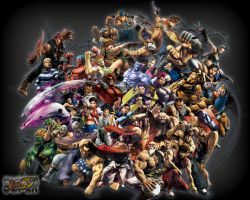 Super Street Fighter 4 by SBlister