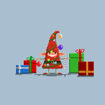 Christmas Elf by WhiteRave