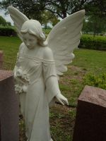 Angel Statue by sketchydreamerstock