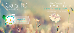 Gaia Compact for covergloobuus by gabriela2400