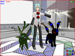 MMD Shiney Pokemanz by Valforwing
