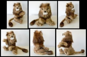 Recycled Mink Lion by Sariti