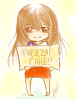 .STAND UP CHILE. by ChikaBoo94
