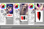 My SAI Brush Settings by thezork
