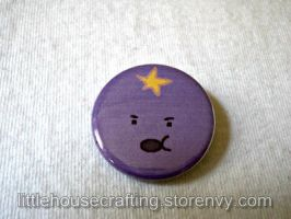 Adventure Time Lumpy Space Princess (LSP) Button by Tharidra