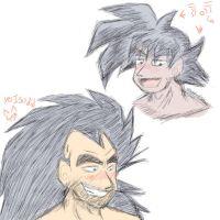 Doodle Chibi Turles and Raditz by Paradise-of-Darkness