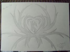Heart Tribal for Kevin by MetalHarpey