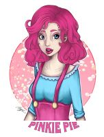My Little Pony Character Design: Pinkie Pie Colo by Ayaka-Itoe