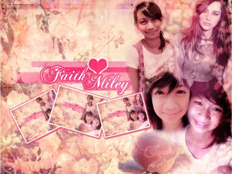 Faith-Miley Wallpaper by lnx03