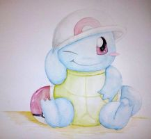 Cute Squirtle C: by Ninychan