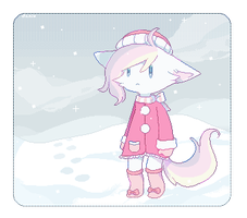 Baby, It's cold out (gif) by Milkii-Ways