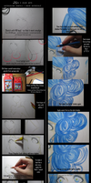 Watercolor Pencil Tutorial + Cheap materials by luien