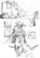 Thor page 1-Heimdall by DottorFile