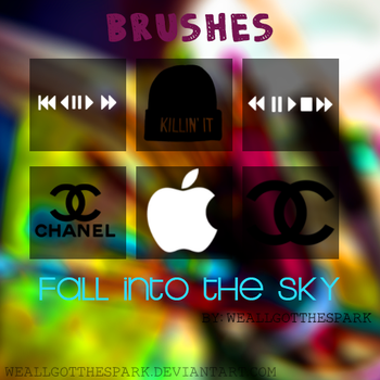 Fall into the sky|BRUSHES| by WeAllGotTheSpark