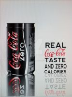 Coke Zero Poster by coolstergraphics