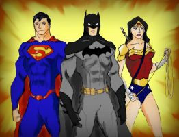 The Gods of Justice by RJDJ-Productions