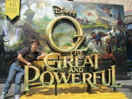 Oz The Great and Powerful Logo at DCA by montey4