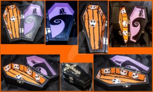Nightmare Before Christmas Coffin 1 by creative1978