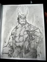 Hellboy-Perlman by a-archer