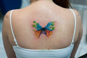 butterfly by tattoozone