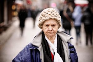 Old lady expression by jericho1405