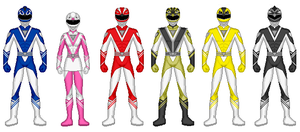 Power Rangers Sky Force by heavenlymythicranger