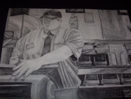 McDonalds in Graphite by DarkAngelKalas