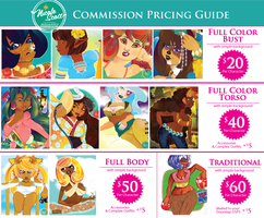Commission Pricing by nicole-m-scott