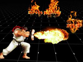Ryu.....Street fighter by indu111