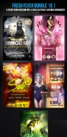 Fresh PSD Flyer Template Bundle 10.1 by ImperialFlyers