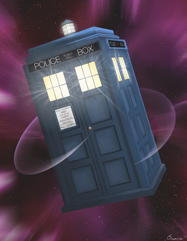 Tardis by oceans-and-galaxies