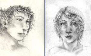 Portrait Practice WIP/UNFINISHED by 7AirGoddess3