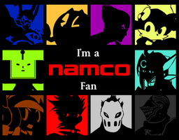 Namco -I'm a Fan- Wallpaper series by spdy4