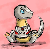 Grimlock by titanium-starfish