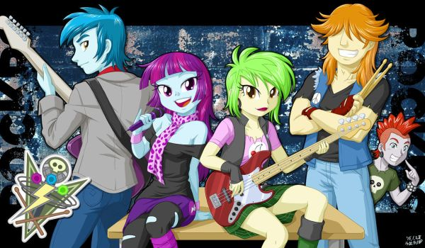 Battle of the Bands -ROCKERS- by uotapo