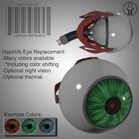 HypoVis Eye Replacement by LandoComando