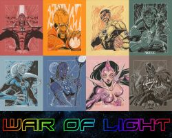 War of Light wallpaper by MysterMDD
