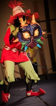 Majora's Mask:  Skull Kid (2) by yukoxxxx13