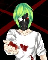 let me save you/ OC Tokyo ghoul Tsuki by Tinerex