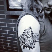 Wolf henna by cydienne