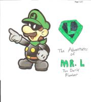 Mr. L the Dark Plumber by jacobyel