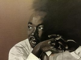 Dr Martin Luther King by Jon-Wyatt
